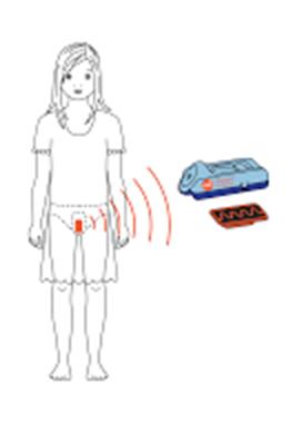 Picture of Wireless enuresis alarm DRI Eclipse